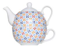 Cosy & Trendy Théière et tasse à thé Deco 38 cl
