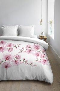 Ambiante Dekbedovertrek Carla pink katoen 200 x 220 cm-Afbeelding 2