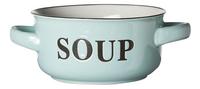 Cosy & Trendy 6 bols à soupe vert menthe 60 cl