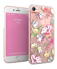 i-Paint cover voor iPhone 7 Glamour rose