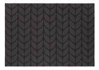 Day Drap Placemat Non-slip grijs/zwart L 45 x B 32 cm - 2 stuks-Vooraanzicht