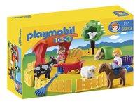 Playmobil 1.2.3 6963 Parc animalier