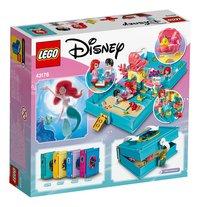 LEGO Disney Princess 43176 Les aventures d'Ariel dans un livre de contes-Arrière