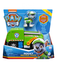 PAW Patrol Rocky Recycle Truck-Vooraanzicht
