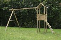 BnB Wood schommel met speeltoren Tildonk