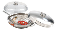 Demeyere wok en inox 32 cm-Détail de l'article