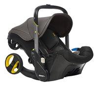 Doona+ Omvormbare draagbare autostoel Groep 0+ greyhound-Linkerzijde