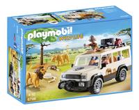 Playmobil Wild Life 6798 Aventuriers avec 4x4 et couple de lions