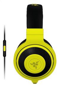 Razer casque-micro Kraken Mobile Neon jaune-Côté gauche