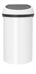Brabantia poubelle Touch Bin blanc 60 l
