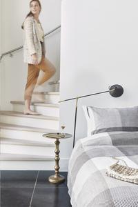 Beddinghouse Housse de couette Jim taupe coton 260 x 220 cm-Image 4