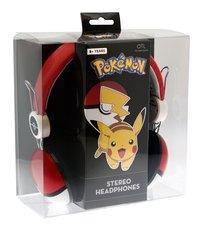 Hoofdtelefoon Pokémon Pokéball-Vooraanzicht