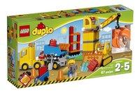LEGO DUPLO 10813 Grote bouwplaats-Vooraanzicht