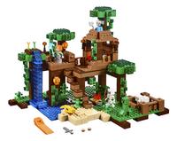 LEGO Minecraft 21125 La cabane dans l'arbre de la jungle-Avant