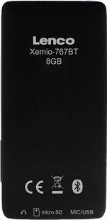 Lenco mp4-speler Xemio-767 BT 8 GB zwart/blauw-Achteraanzicht