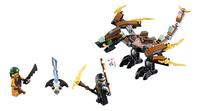 LEGO Ninjago 70599 Cole's draak-Vooraanzicht