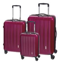 Check.In Set de valises rigides London 2.0 berry-Avant