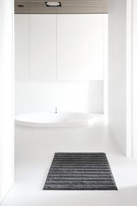 Casilin tapis de bain Nevada anthracite 70 x 120 cm-Image 1