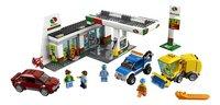 LEGO City 60132 Benzinestation-Vooraanzicht
