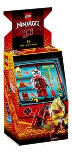 LEGO Ninjago 71714 Avatar Kai - Capsule Arcade-Côté gauche
