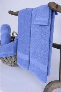 Jules Clarysse 6-delige handdoekenset Classic blauw-Afbeelding 1