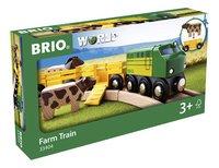 BRIO World 33404 Train des animaux de la ferme-Côté gauche