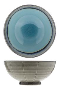 Cosy & Trendy 6 kommetjes Giana blauw 11 cm