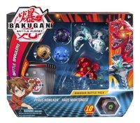 Bakugan Battle Pack 5 pièces - Pyrus Howlkor & Haos Mantonoid-Avant