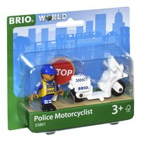 BRIO World 33861 Moto de police-Côté gauche