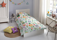 Good Morning Housse de couette Zoo coton Lg 140 x L 220 cm-Image 1