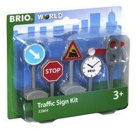 BRIO World 33864 Panneaux de signalisation-Côté gauche