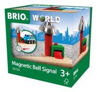 BRIO World 33754 Signal Cloche Magnétique-Côté droit