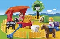 Playmobil 1.2.3 6963 Parc animalier-Image 1