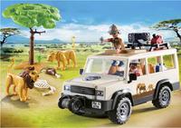 Playmobil Wild Life 6798 Safari 4x4 met lier-Afbeelding 1