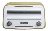 Lenco radio DAB+ Rétro DAR-012 Taupe-Avant