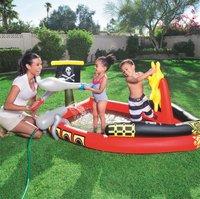 Bestway opblaasbaar speelcenter Piratenboot met waterkanon-Afbeelding 2