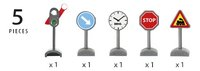 BRIO World 33864 Panneaux de signalisation-Détail de l'article