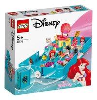 LEGO Disney Princess 43176 Les aventures d'Ariel dans un livre de contes-Côté gauche