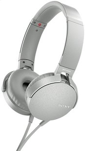 Sony hoofdtelefoon MDR-XB550AP wit/grijs-Artikeldetail