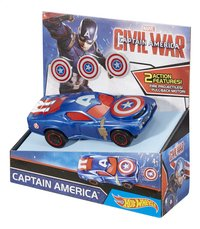 Hot Wheels voiture Captain America Civil War Captain America