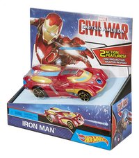 Hot Wheels voiture Captain America Civil War Iron Man