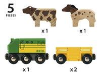BRIO World 33404 Train des animaux de la ferme-Détail de l'article
