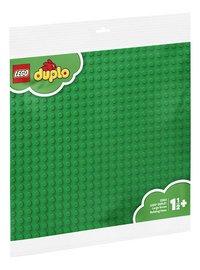 LEGO DUPLO 2304 Grande plaque de base verte-Côté gauche