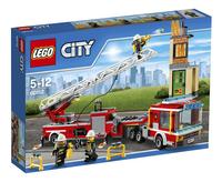 LEGO City 60112 Brandweerwagen-Vooraanzicht