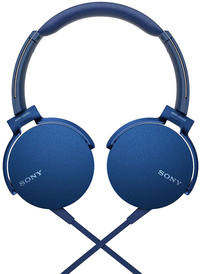 Sony casque MDR-XB550AP bleu