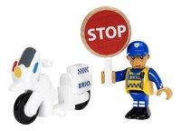 BRIO World 33861 Moto de police-Avant