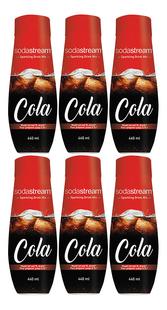 SodaStream Siroop Classic Cola 440 ml - 6 stuks-Vooraanzicht