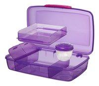 Sistema lunchbox Bento Box Duo mauve-Détail de l'article