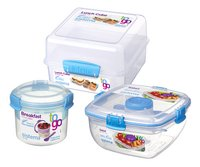 Sistema Bol à petit-déjeuner, boîtes à salade et à tartines To Go
