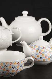 Cosy & Trendy Théière et tasse à thé Deco 38 cl-Image 1